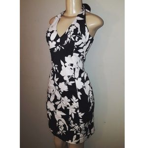 Jones new york floral halter dress size 6